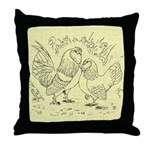 D'Anvers On Canvas Throw Pillow