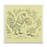 D'Anvers On Canvas Tile Coaster