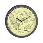 D'Anvers On Canvas Wall Clock