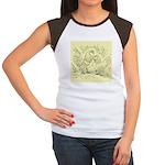 D'Anvers On Canvas Women's Cap Sleeve T-Shirt