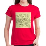 D'Anvers On Canvas Women's Dark T-Shirt