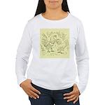 D'Anvers On Canvas Women's Long Sleeve T-Shirt