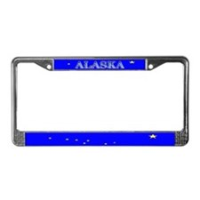 Alaska State Flag License Plate Frame