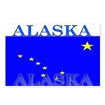 Alaska State Flag Postcards (Package of 8)