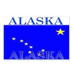 Alaska State Flag Postcards (Package of 8)