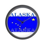Alaska State Flag Wall Clock