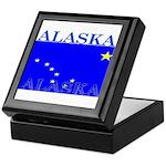 Alaska State Flag Keepsake Box