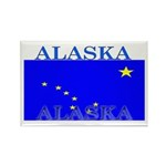 Alaska State Flag Rectangle Magnet (10 pack)