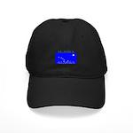 Alaska State Flag Black Cap