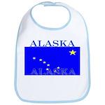 Alaska State Flag Bib
