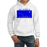 Alaska State Flag Hooded Sweatshirt