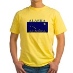 Alaska State Flag Yellow T-Shirt