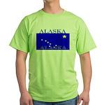 Alaska State Flag Green T-Shirt