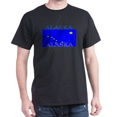 Alaska State Flag Dark T-Shirt