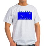 Alaska State Flag Light T-Shirt