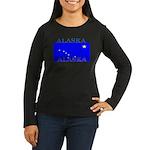 Alaska State Flag Women's Long Sleeve Dark T-Shirt
