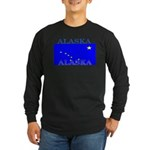 Alaska State Flag Long Sleeve Dark T-Shirt