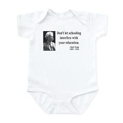 Mark Twain 1 Infant Bodysuit