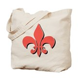 Fleur De Lis Tote Bag