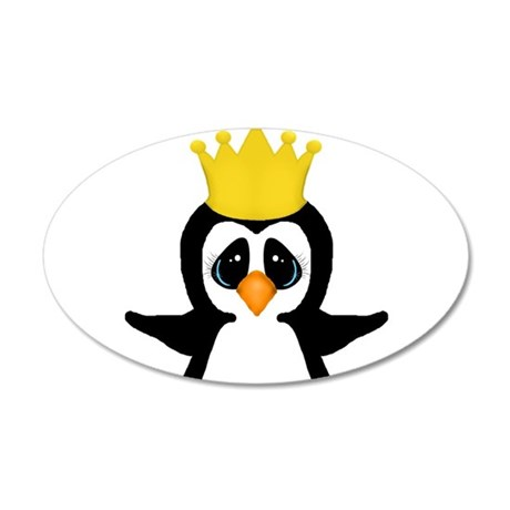 Penguin King Wall Decal