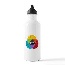 Venn Dadigram Water Bottle