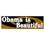 Obama is Beautiful bumper sticker