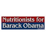 Nutritionists for Barack Obama