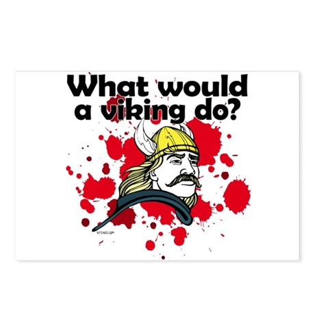 What Would a Viking Do Postcards (Package of 8)