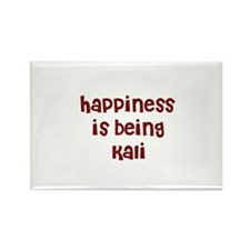 happiness is being Kali Rectangle Magnet