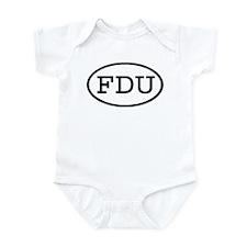 FDU Oval Infant Bodysuit