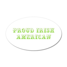 Proud Irish American-Max l green 500 Wall Decal