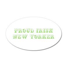 Proud Irish New Yorker-Max l green 500 Wall Decal