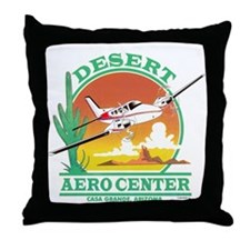 DESERT AERO CENTER Throw Pillow