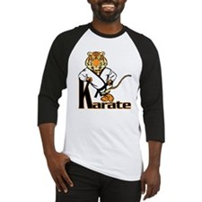 Karate Tiger Kid Baseball Jersey