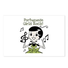 Portuguese Girls Rock Postcards (Package of 8)