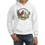 Belgian d'Uccle Bantams Hooded Sweatshirt