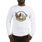 Belgian d'Uccle Bantams Long Sleeve T-Shirt