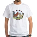 Belgian d'Uccle Bantams White T-Shirt
