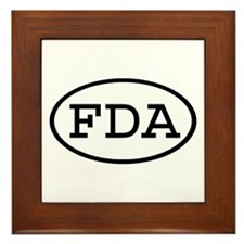 FDA Oval Framed Tile