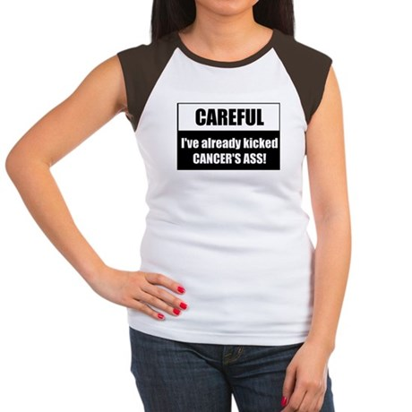 Kicked Cancer's Ass Women's Cap Sleeve T-Shirt