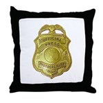 Press Photographer Throw Pillow