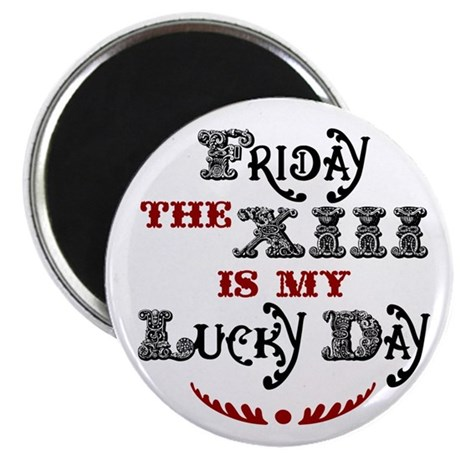 "Friday the 13th 2.25"" Magnet (10 pack)"