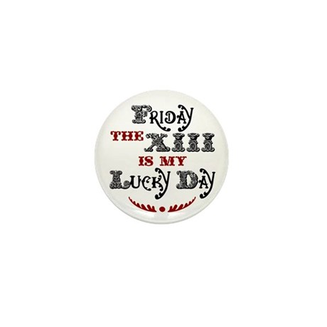 Friday the 13th Mini Button