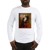 Lincoln & His Welsh Corgi #1 - Long Sleeve T-Shirt