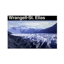 Wrangell-St. Elias NP Rectangle Magnet (100 pack)
