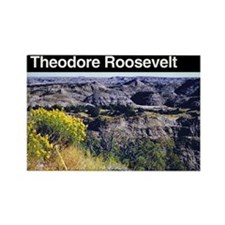 Theodore Roosevelt NP Rectangle Magnet (100 pack)