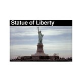 Statue of Liberty NM Rectangle Magnet (100 pack)