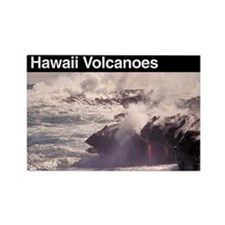 Hawaii Volcanoes NP Rectangle Magnet (100 pack)