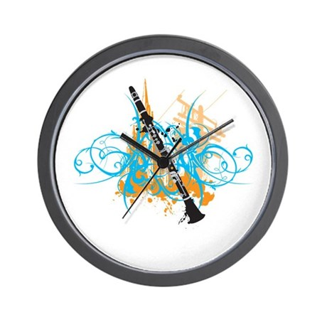 Urban Clarinet Wall Clock