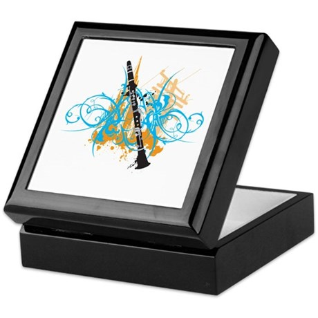 Urban Clarinet Keepsake Box